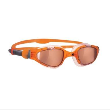 Zoggs Aqua Flex Titanium Goggles Kacamata Renang - Orange