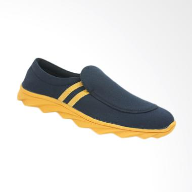 Dr.Kevin Man Casual Shoes - Black Yellow [13270]