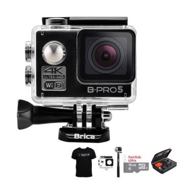 Brica B-PRO 5 Alpha Edition 1 4K AE ... uxe Action Camera - Hitam