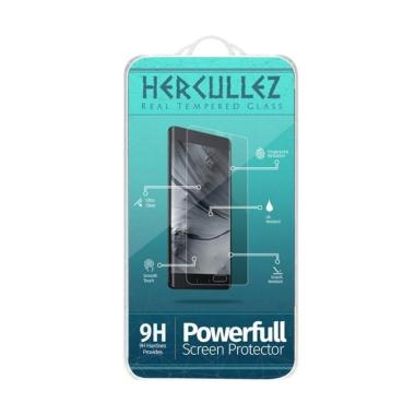 HERCULLEZ Premium Tempered Glass Screen Protector for OPPO A57 - Clear