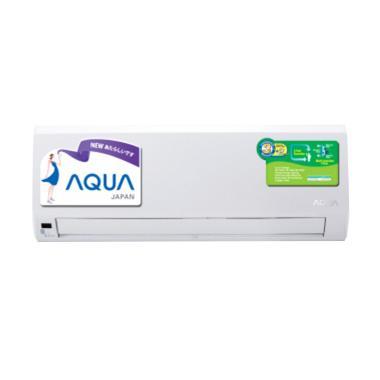 Aqua AQAKC109AG6 AC Split - Putih [1 PK/ Khusus Jadetabek]