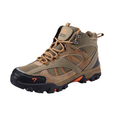 Snta Boots Sepatu Gunung Unisex - Beige Brown [481]