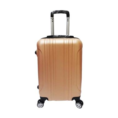 POLO B11 Maple Fiber Hardcase Trolley Bag - Gold [24 Inch]