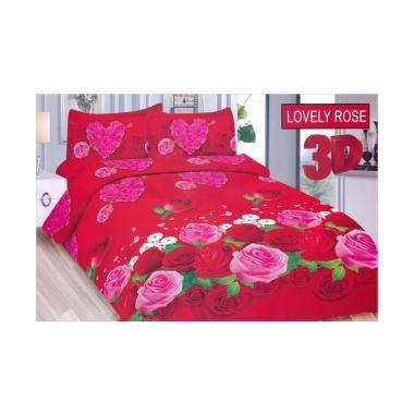 TERMURAH Sprei Bonita Tipe Lovely Rose King Size 180