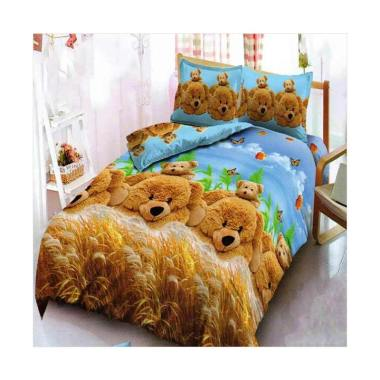 Kintakun Dluxe Motif Golden Bear Se ... Single Size/120 x 200 cm]