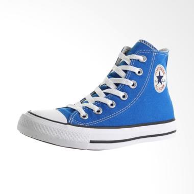 Converse Chuck Taylor All Star Hi M ... atu Pria - Blue [155566C]