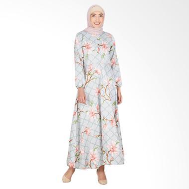 LAMAK Sakura Dress Muslim - Hijau