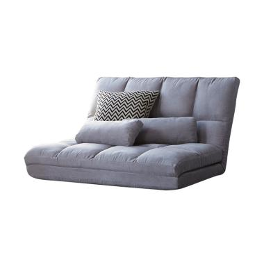 The Olive House Waffle Sofa Bed - Grey