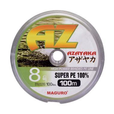 Maguro Azayaka PE Senar Pancing - Yellow [100m/ Size 8/ 100 Lbs]