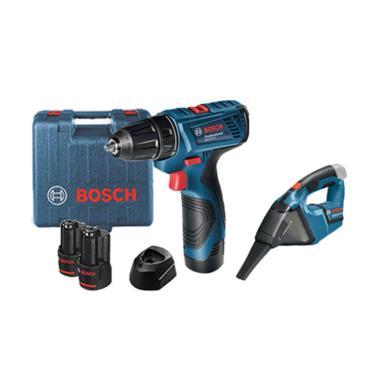 Bosch GSR 120-LI Cordless Drill Mes ... rdless Dry Vacuum Cleaner