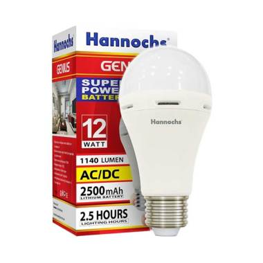 Hannochs Genius Emergency Lampu LED [12 W]