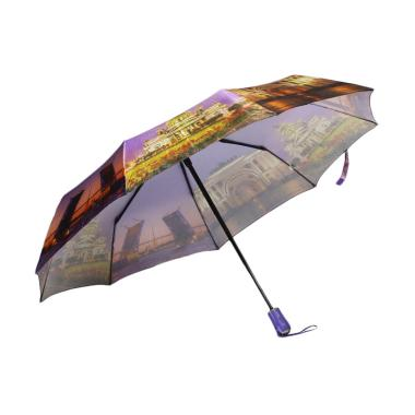 Pasio Art 0012 High Quality Otomatis Buka Tutup Fashion Umbrella