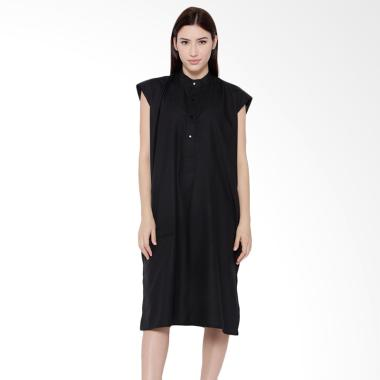 REE Boxy Dress Wanita - Black