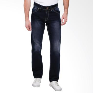Lois Men Fashion Straight Denim Cel ... - Dark Blue Denim [067 C]