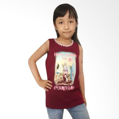 chloe's clozette TEE-02 Justice Kaos Anak Perempuan