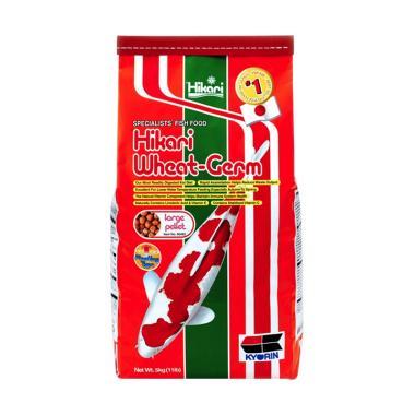 Hikari Wheat Germ Makanan Ikan Koi dan Ikan kolam [Size L/ 5 kg]