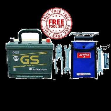 GS ASTRA Aki Mobil Mf Ns60 Toyota Avanza, Grand New Avanza, Avanza Vel