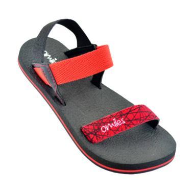 Omiles Kiera Teen Sandal Anak Perempuan - Red Black