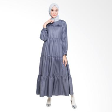 Allev Kainah Dress Muslim - Abu abu