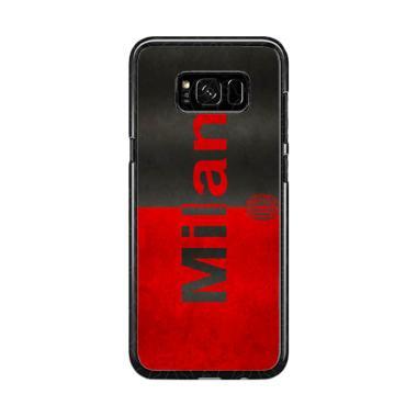 Guard Case Ac Milan Flag O1206 Cust ... or Samsung Galaxy S8 Plus