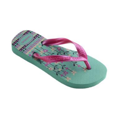 Havaianas 1339 Kids Flores Sandal Anak - Mint Green