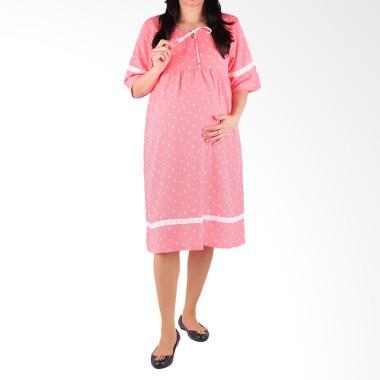 HMILL 1453 Dress Hamil - Peach