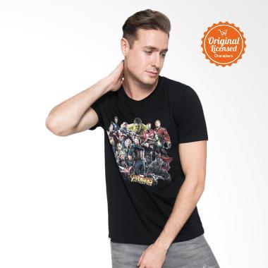 Marvel The Avengers Infinity War Full Team Unisex T-Shirt - Black