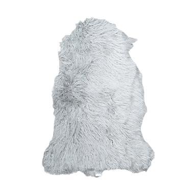 JYSK Lambskin Fleur Karpet - Grey [50 x 80 cm]