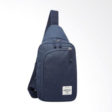 Navy Club EEAG Waterproof Tas Selempang Travel Pria - Dark Blue