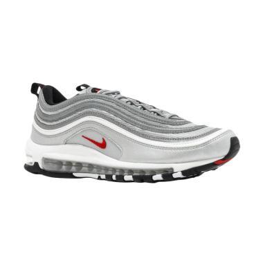 NIKE Men Air Max 97 Sepatu Sneakers Pria - Silver Bullet [884421-001]