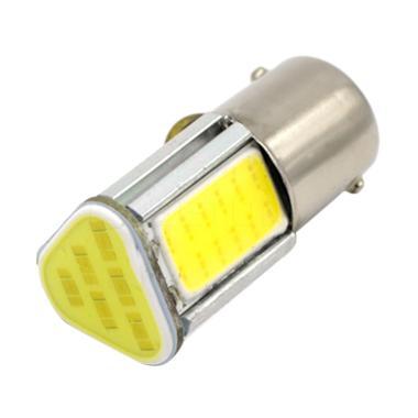 JMS S25 1157 BAY15D COB 24 SMD Lamp ... tau Motor - White [1 Pcs]
