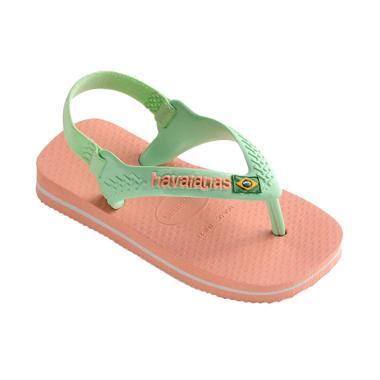 Havaianas Brasil Logo Cf 0082 Baby Sandals - Silk Rose