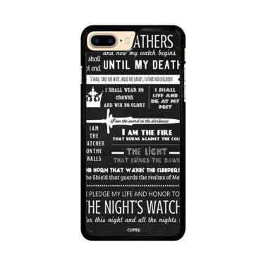 Flazzstore The Night'S Watch Oath X ... e 7 Plus or iPhone 8 Plus