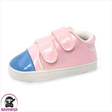 harga Unik LUSTY BUNNY Sepatu Bayi Prewalker Sol Karet PS2082 - 135 mm PINK Murah Blibli.com