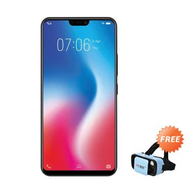 VIVO V9 Smartphone - Black [64GB/4GB] + Free VR BOX