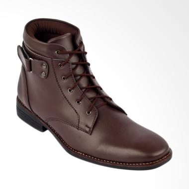 Navara Street Boots Sepatu Boots Pria - Brown