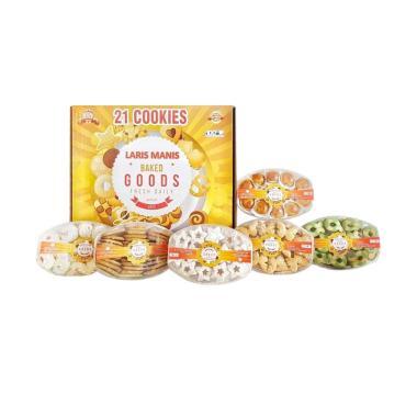 Universal 21 Cookies Laris Manis Paket Kue Kering Lebaran