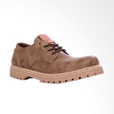 NOKHA Lior Sepatu Boots Perempuan - Brown Gum