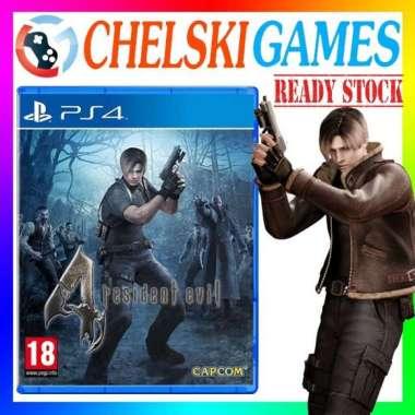 harga Kaset PS4 Resident Evil 4 Reg All Blibli.com