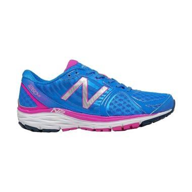 New Balance Women Running Sepatu Lari Wanita - Blue Pink [W1260BP5]