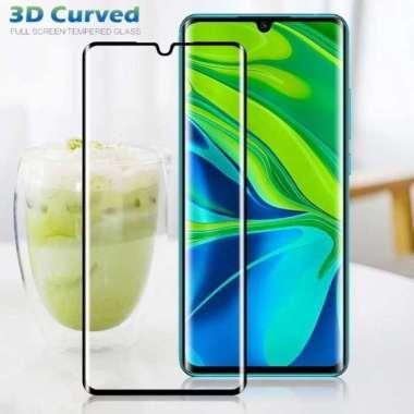 harga Dijual Xiaomi Mi Note 10 Pro Tempered Glass Full Cover Melengkung Murah Blibli.com