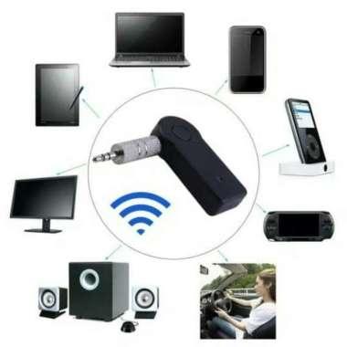 harga Promo Bluetooth Receiver Music Home Car Speaker Audio Adapter 3.5m Berkualitas Blibli.com