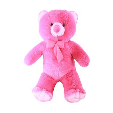 Jual Boneka Teddy Bear Warna Pink Online - Harga Baru Termurah Maret ... f806e5b6d2