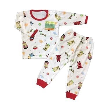 Aruchi Motif Funny Stuff Oblong Pan ... n Baju Tidur Anak - Merah