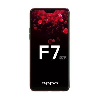 Oppo F7 Smartphone - Red [64GB/4GB]