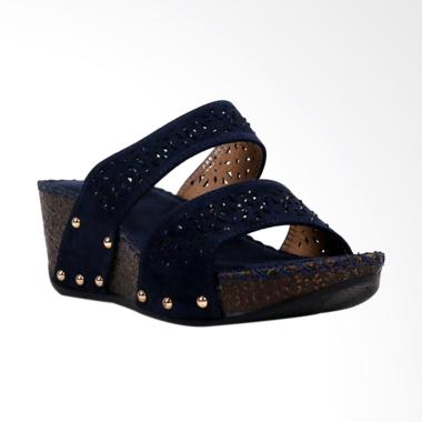 Bettina Baylie Sandals Wanita - Navy