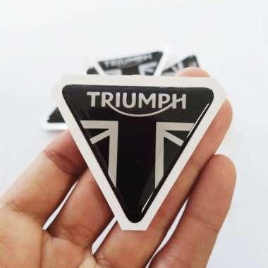 harga Stiker Motor/ Mobil Stiker Helm Timbul Aksesoris Helm TRIUMPH Blibli.com