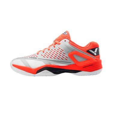 Victor Sepatu Badminton Pria - Grey Orange [P 9300 HD]