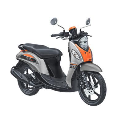 Yamaha Fino Sporty 125 Blue Core Sepeda Motor - Pump Grey