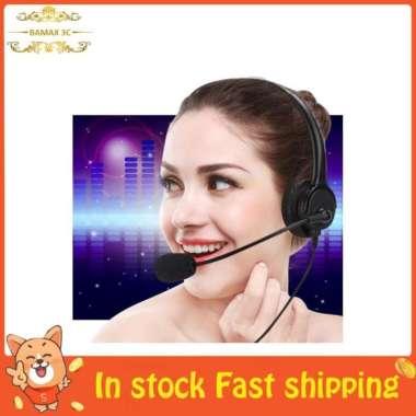 harga Bamaxis Headset Headphone Over-Ear Binaural Kabel Jack 3.5mm Untuk Blibli.com